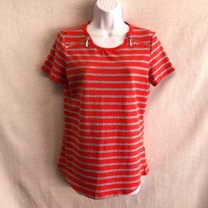 NWT Michael Michael Kors Striped T-shirt